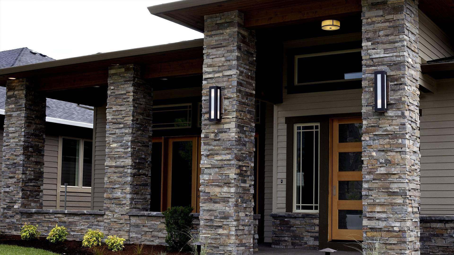 Облицовка фасада декоративным камнем: плюсы и минусы разных способов
