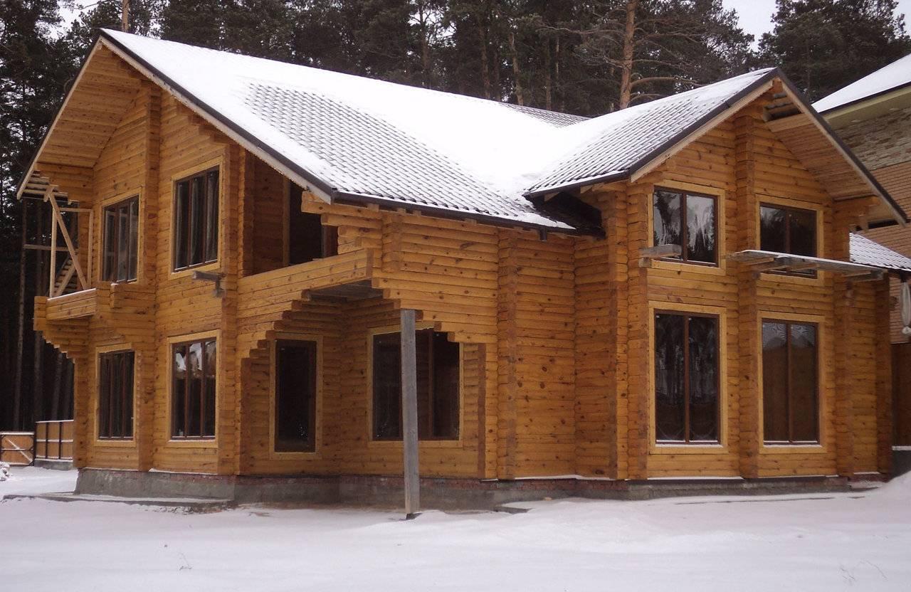 Строительство надежного дома из калиброванного бруса