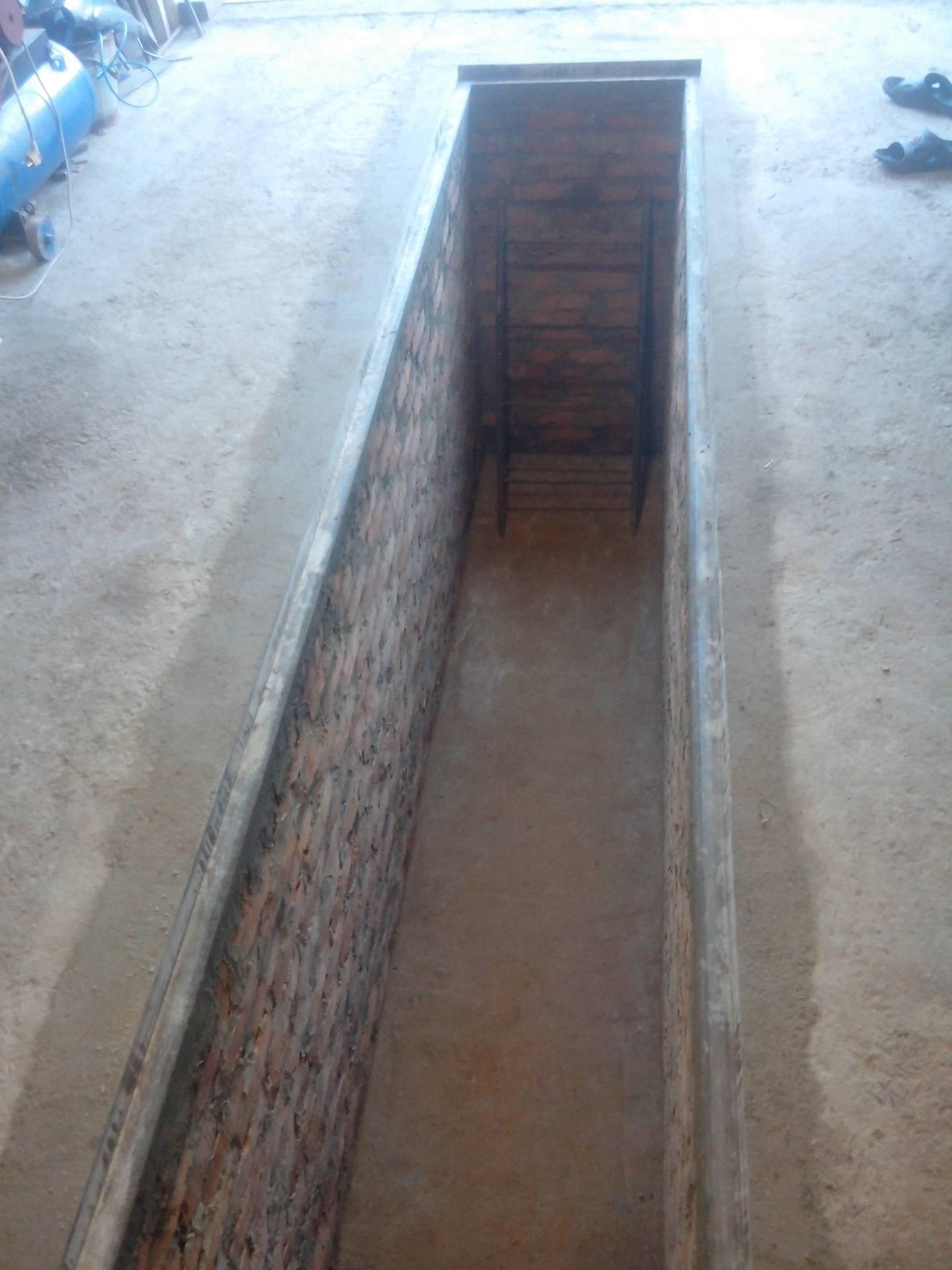 Создание ямы в гараже