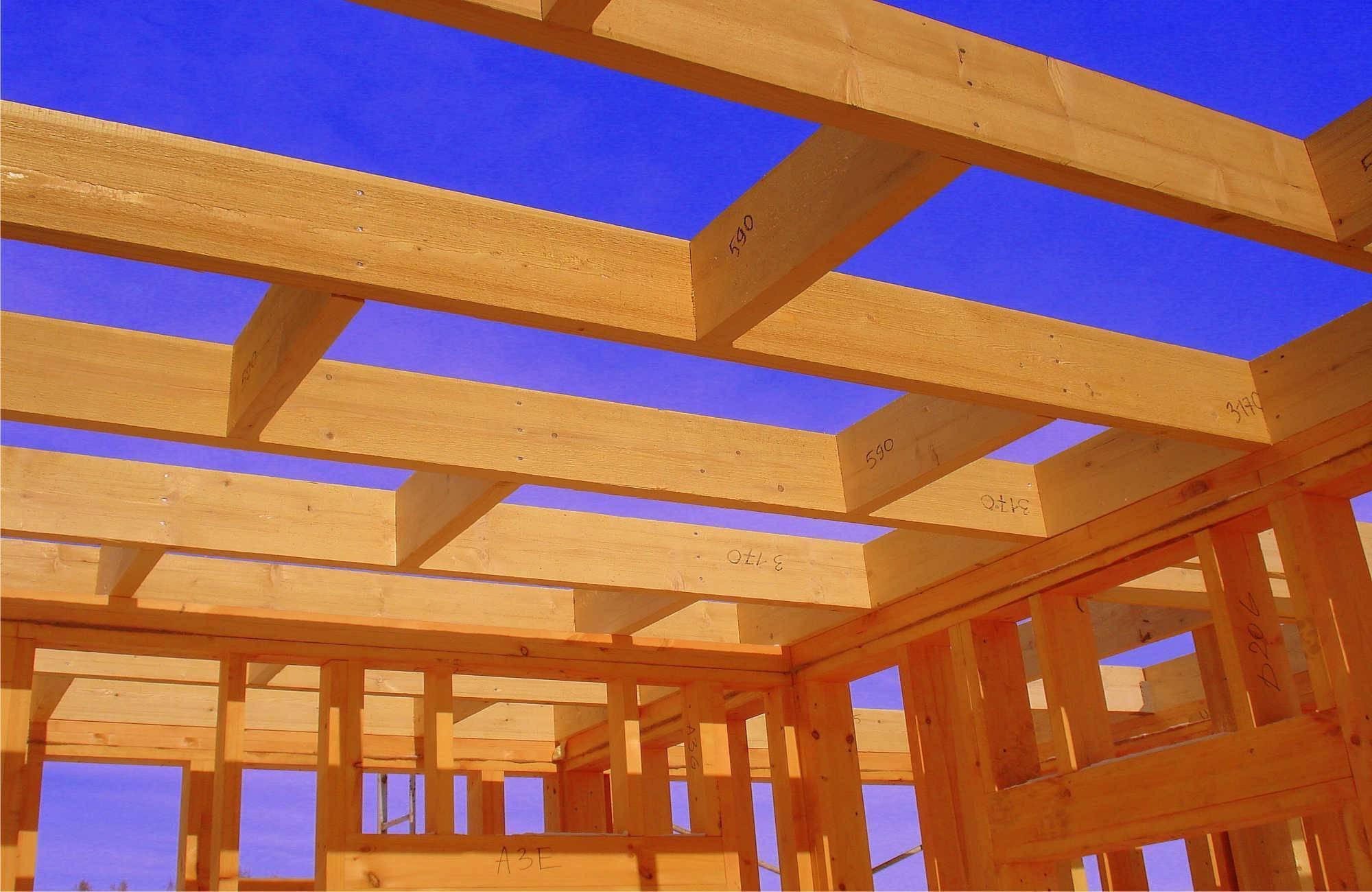 Возведение деревянных перекрытий между этажами: подробная технология