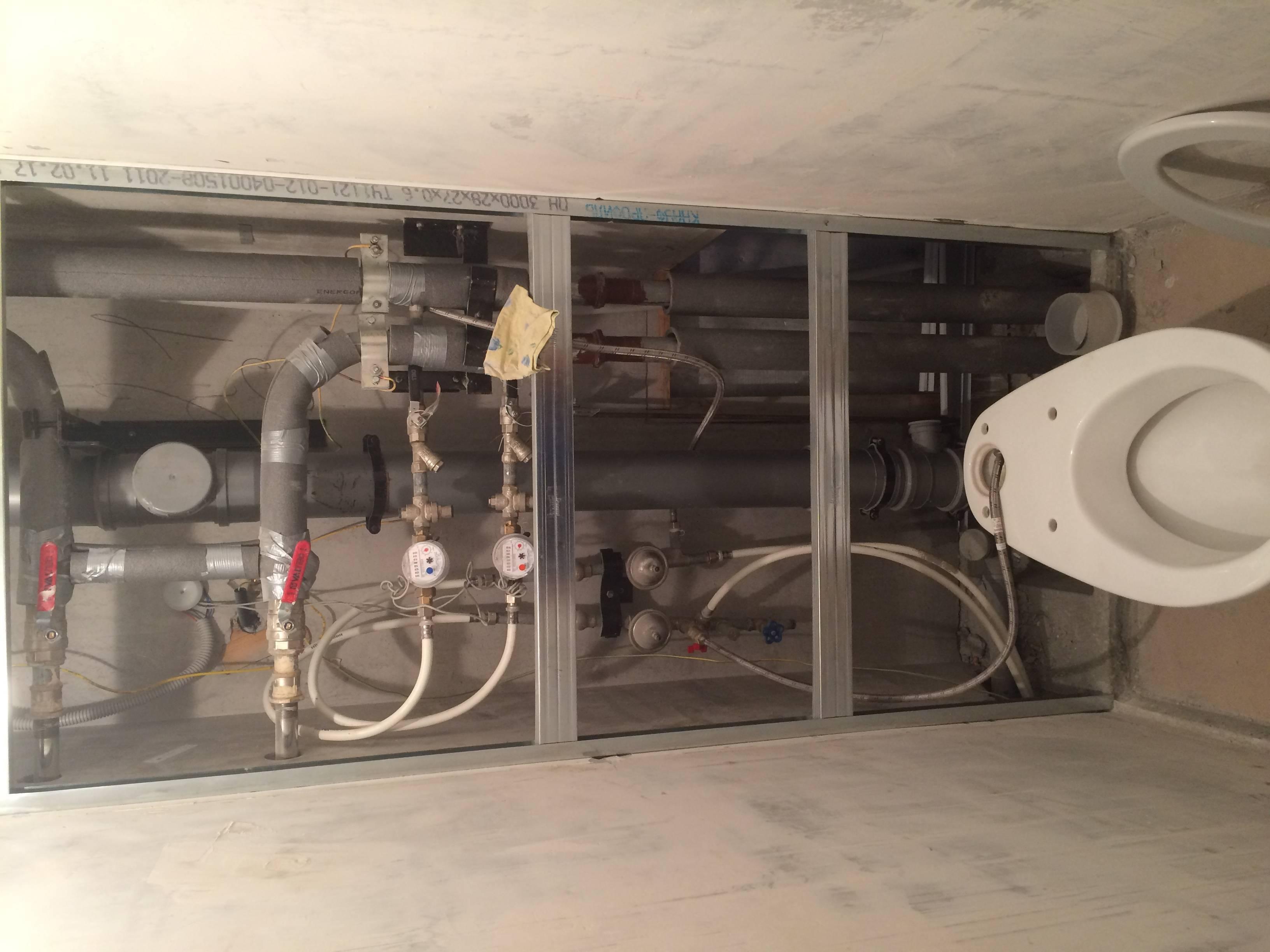 Схемы разводки водоснабжения в квартире и частном доме