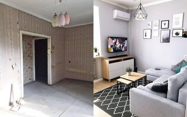 Перепланировка 2-х комнатной хрущевки: как эргономично разделить помещения и сделать маленькую квартиру просторной (20 фото & видео)