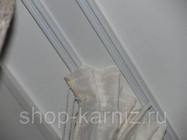 Как повесить карниз для штор на стену: установка и крепление