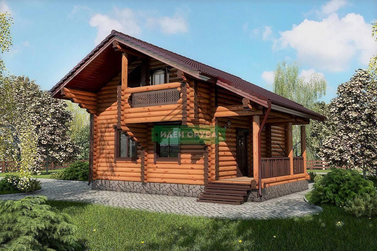 Что лучше: профилированный брус или оцилиндрованное бревно для постройки дома?