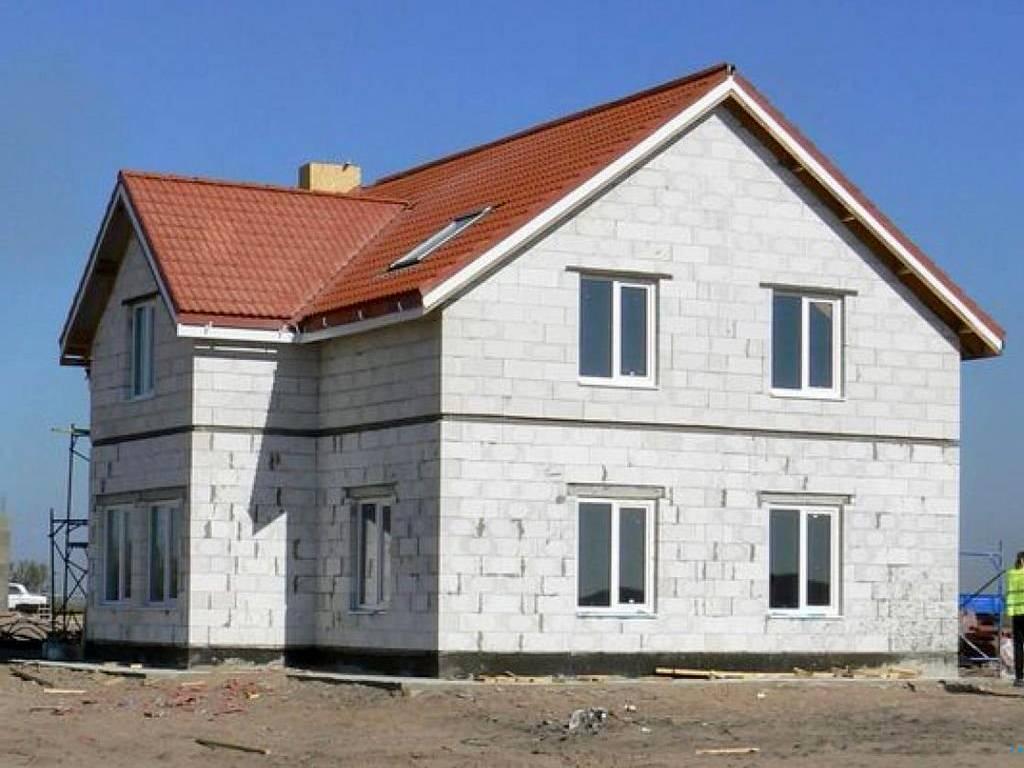Дом из газобетона: плюсы и минусы