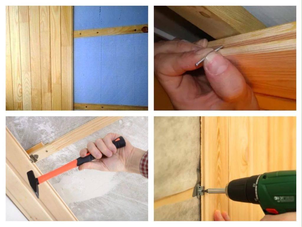 Укладка ламината на потолок и крепление своими руками