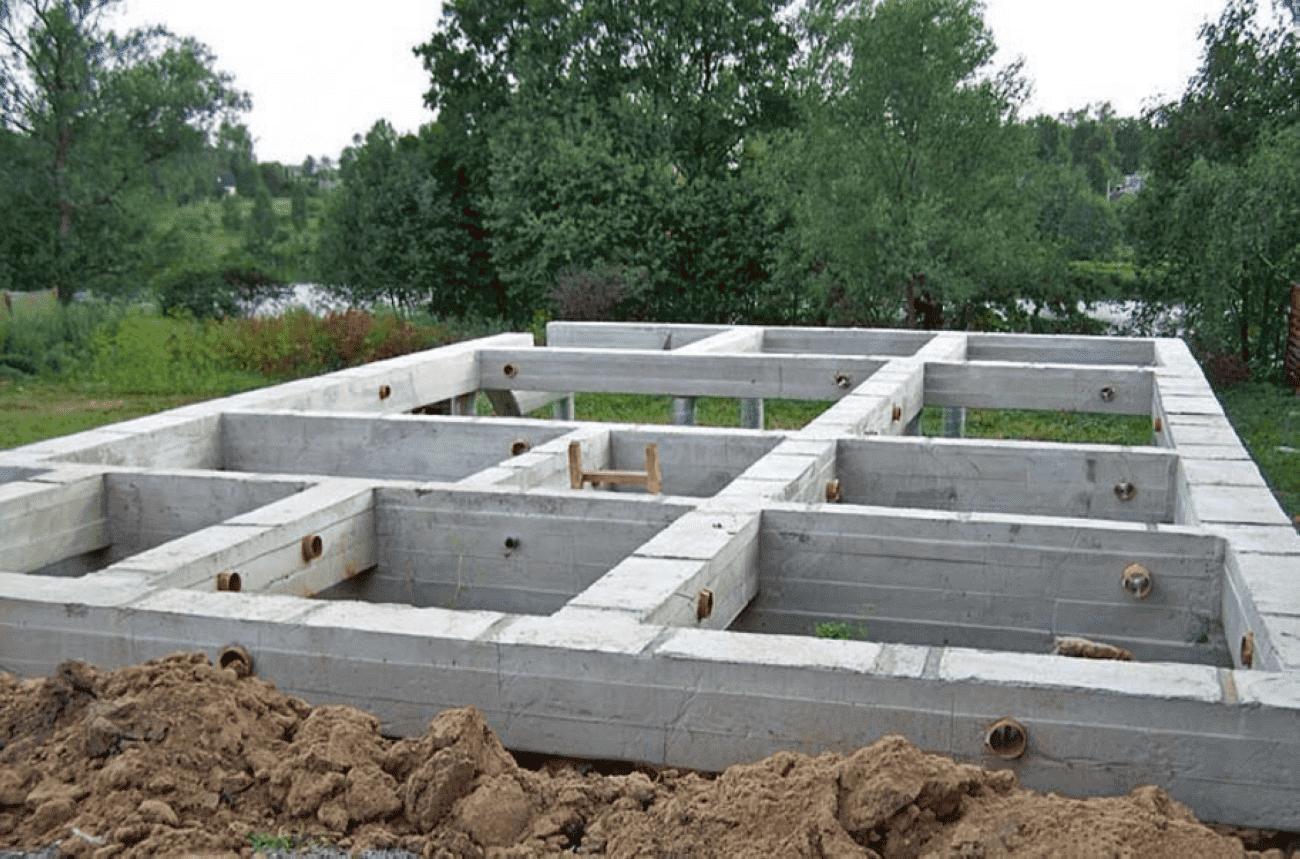 Какой фундамент лучше для дома из газобетона – сравнение разных видов