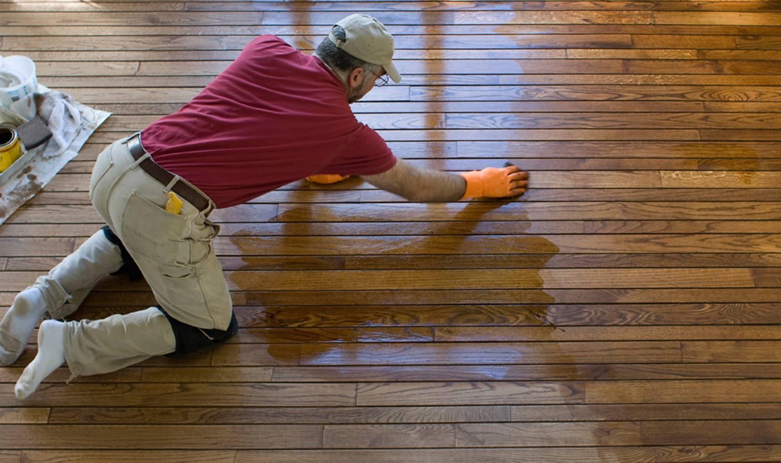 Краска для деревянного пола: виды красок, порядок работ