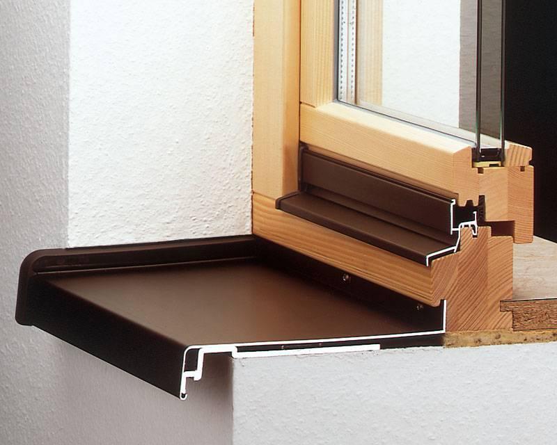 Установка отлива на пластиковое окно, виды отливов на пластиковые окна, плюсы и минусы разных материалов для отливов