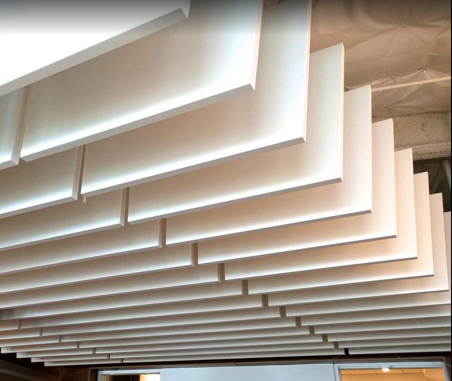 Натяжные потолки с шумоизоляцией (17 фото)