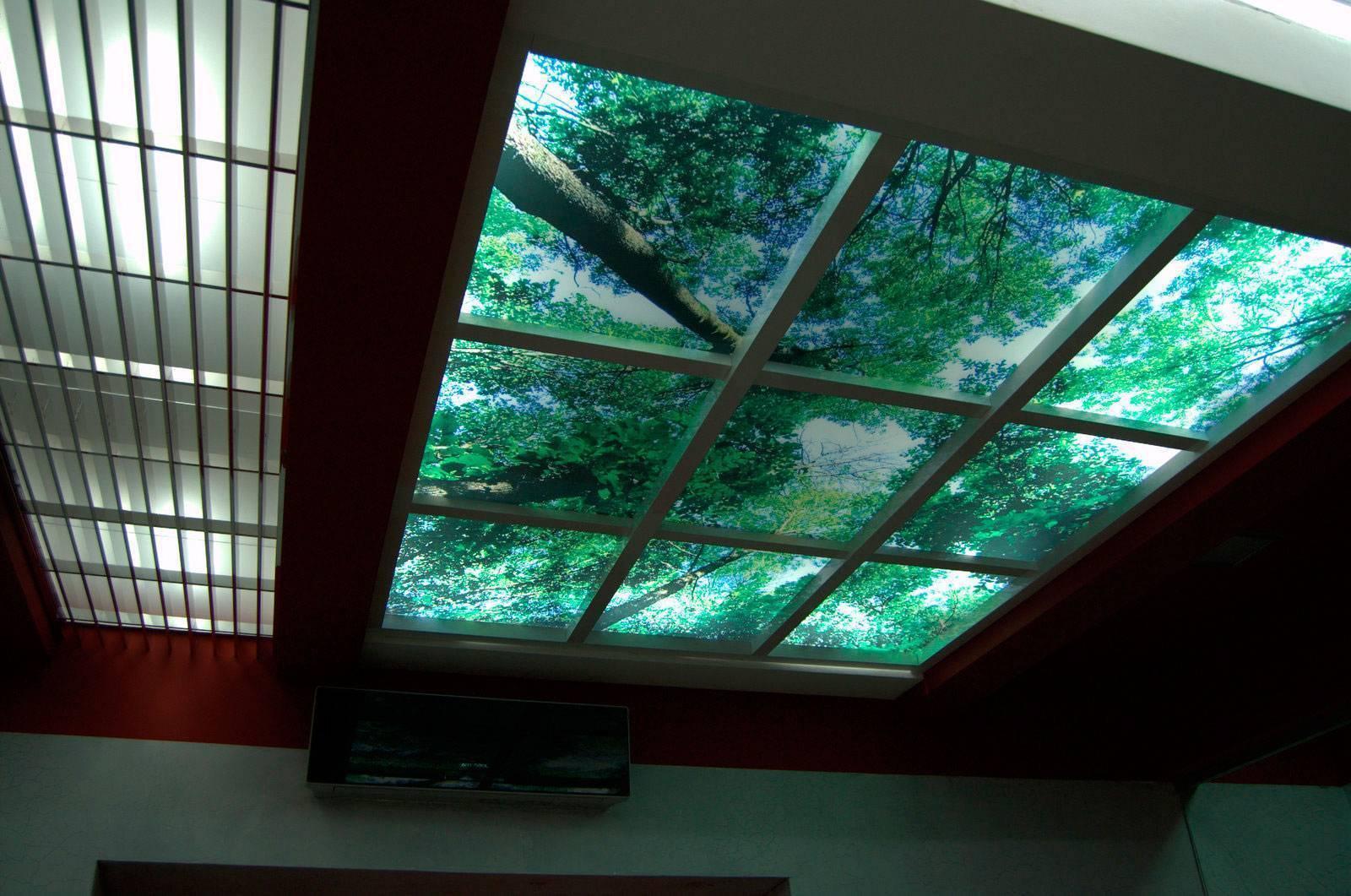 Натяжной потолок в спальне: варианты дизайна, освещения 100 фото