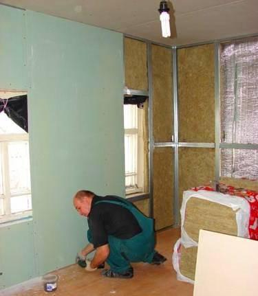 Каким гипсокартоном лучше обшивать стены в деревянном доме