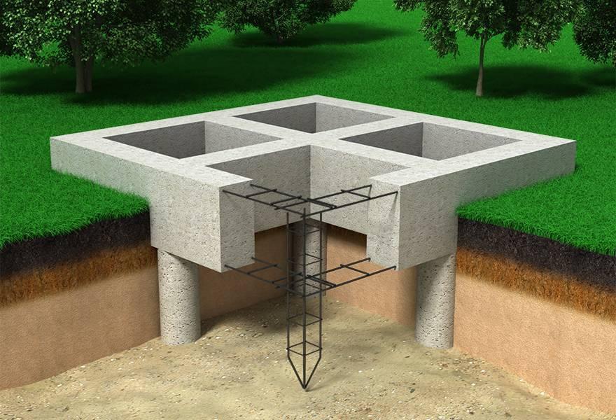 Буронабивной фундамент: пошаговая инструкция по устройству