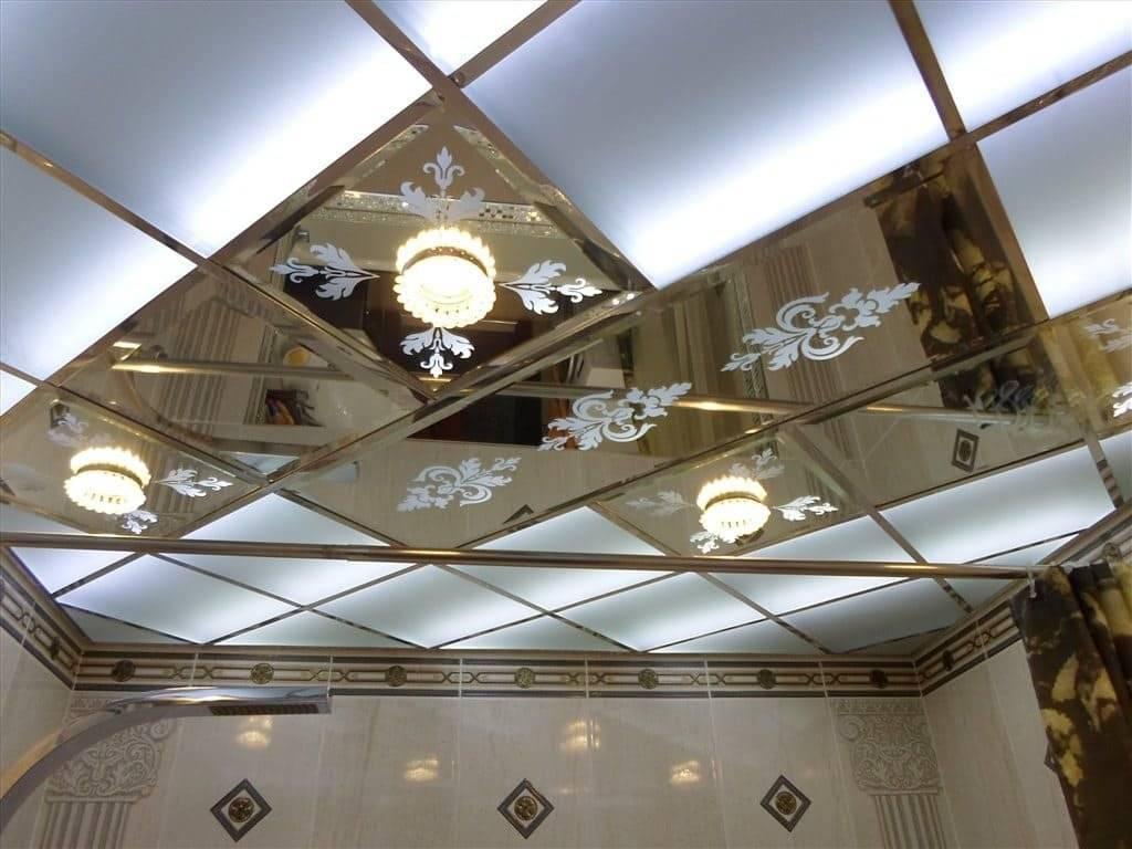 Стеклянный потолок с подсветкой: инструкция по монтажу своими руками, видео, фото