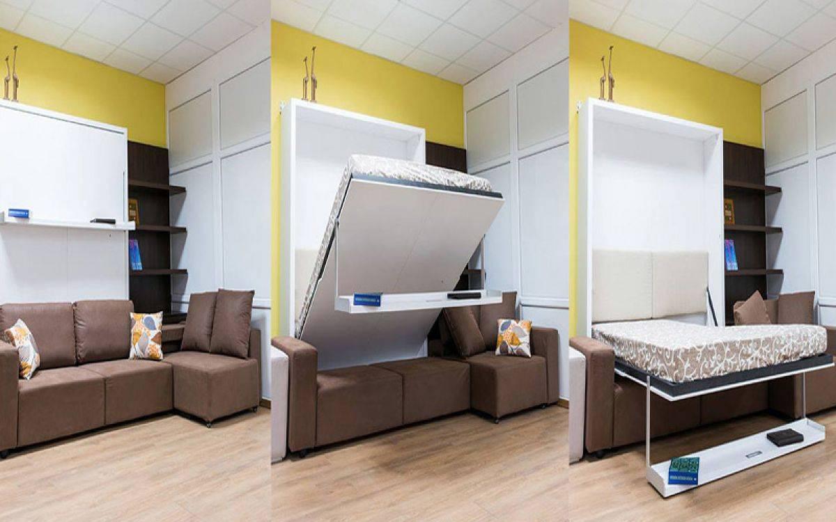 Удобная мебель-трансформер для экономии места в маленьких квартирах