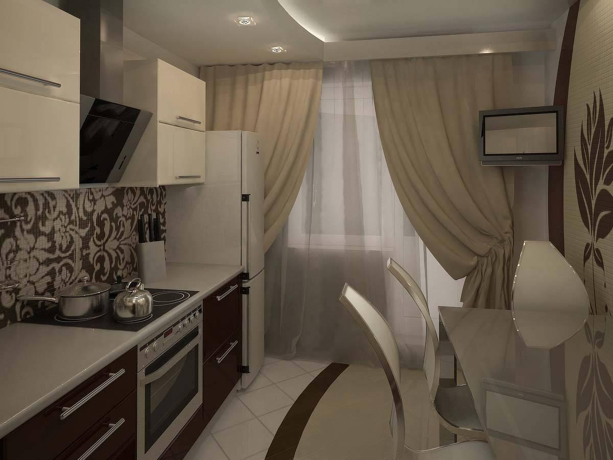 Кухня 9 кв. м. – лучший дизайн интерьера и обзор оптимальных вариантов размещения мебели (75 фото)