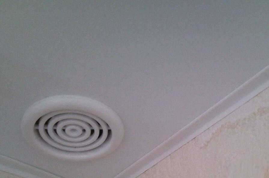 Зачем нужна вентиляция под натяжным потолком?