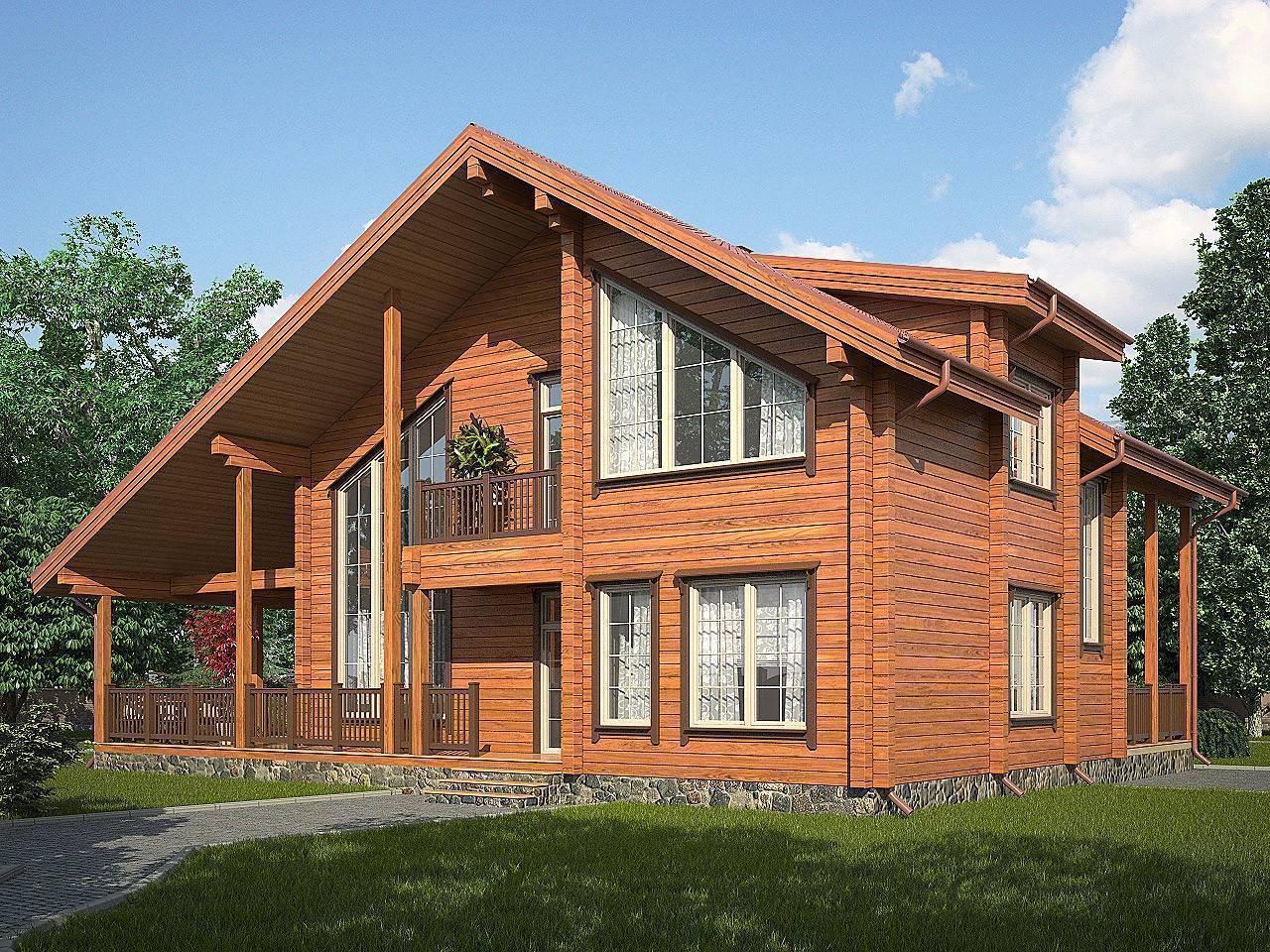 Дома из профилированного бруса (61 фото): как построить деревянный одноэтажный коттедж, отзывы владельцев