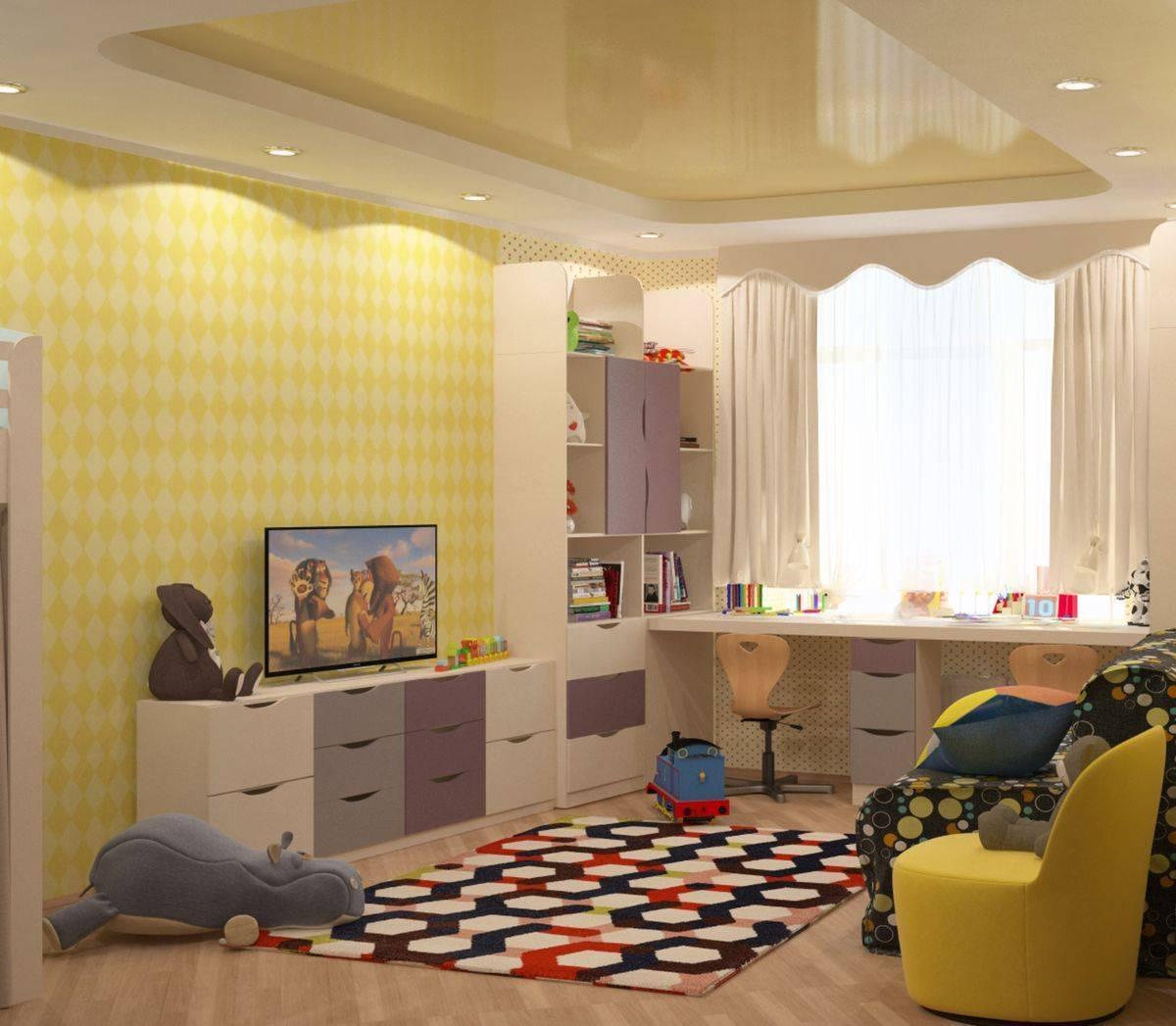 Создаем функциональный дизайн детских комнат для мальчиков