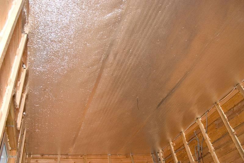 Пароизоляция потолка в квартире и в доме