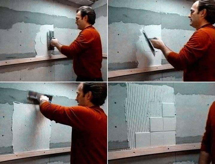 Как правильно клеить потолочную плитку ромбом
