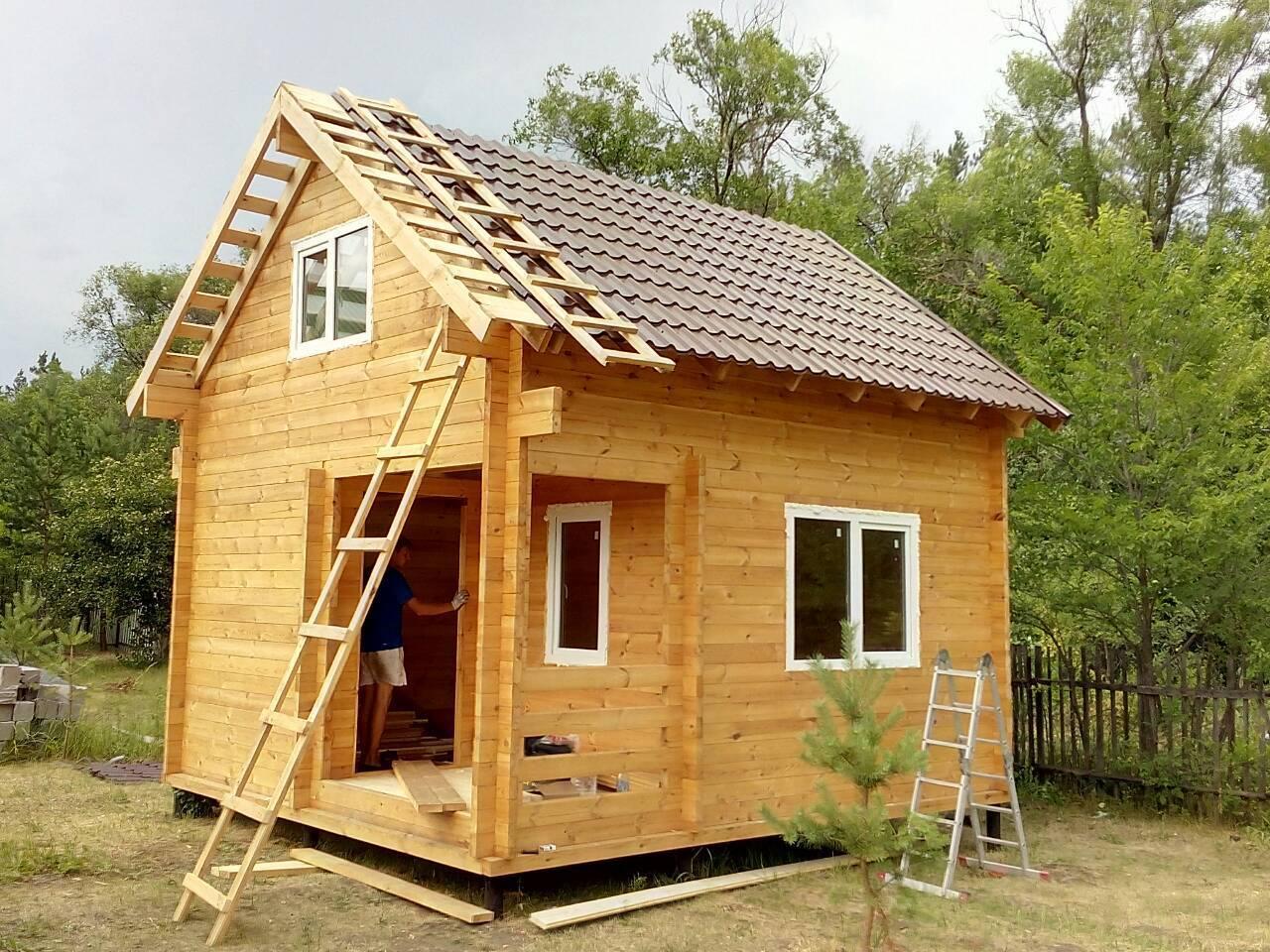 Маленький домик своими руками - пошаговая инструкция!