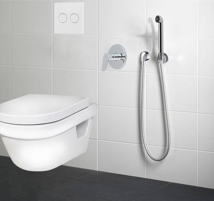 Выбираем гигиенический душ для унитаза: установка вместо биде