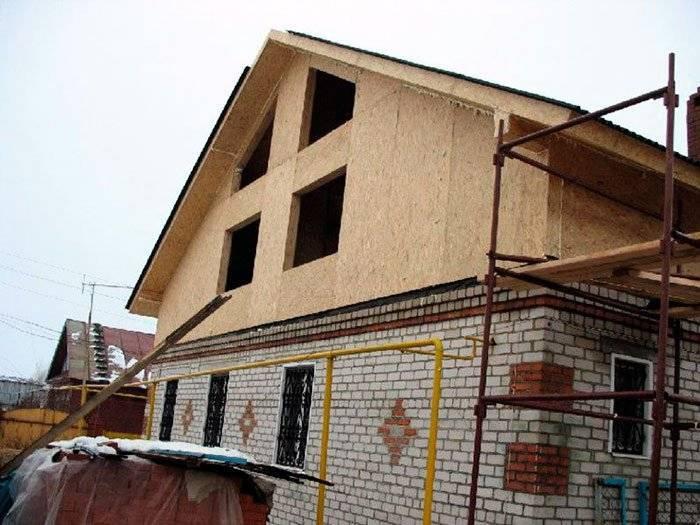 Двухэтажный каркасный дом своими руками.