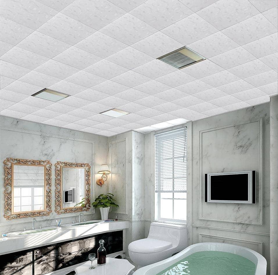 Уход за потолочной плиткой - чем и как ее мыть?