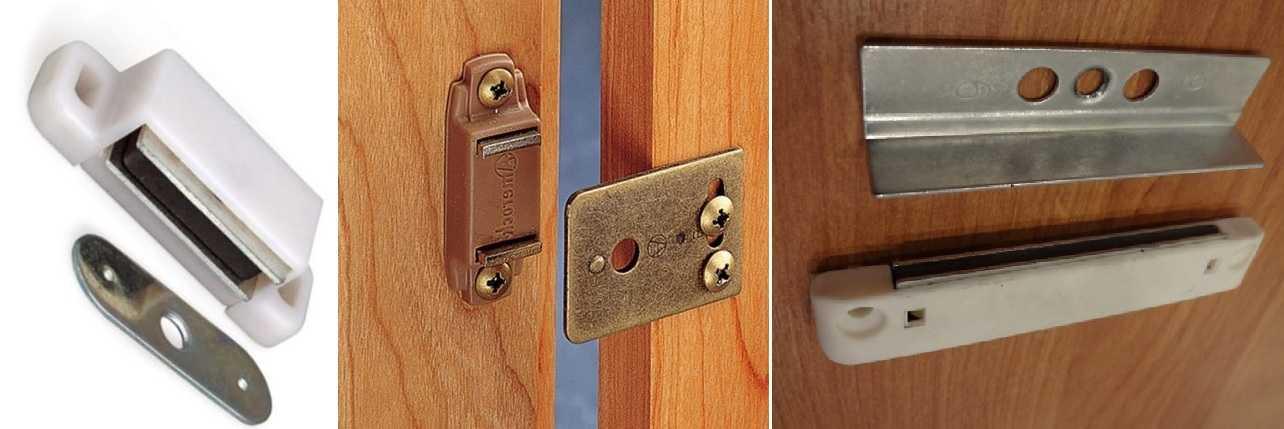 Магнитная защелка для дверей: выбор и установка