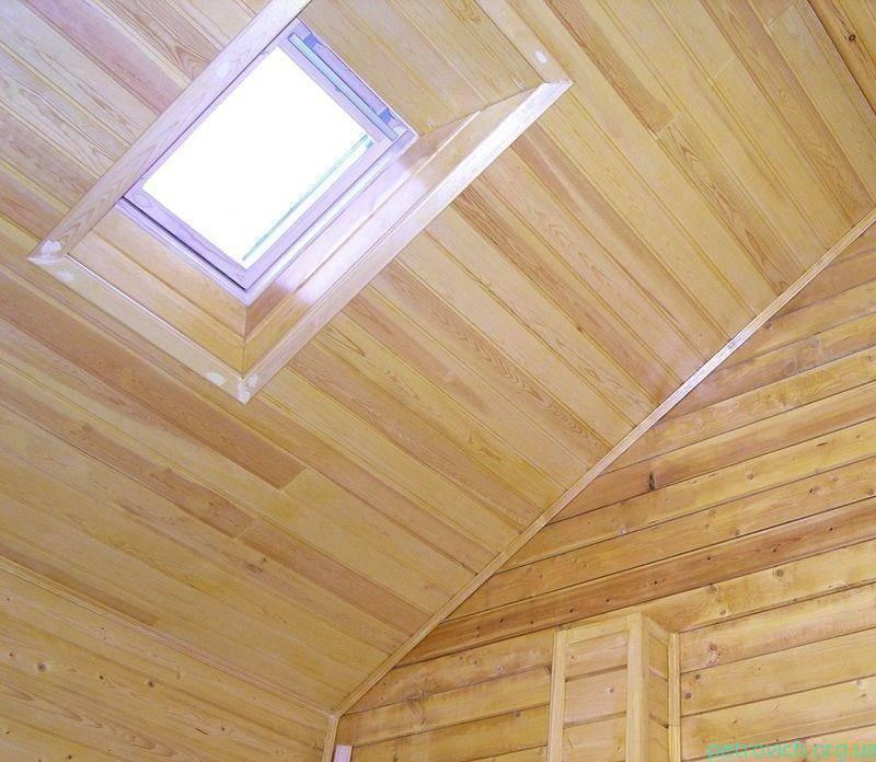 Потолок из вагонки своими руками: монтаж и обшивка каркаса