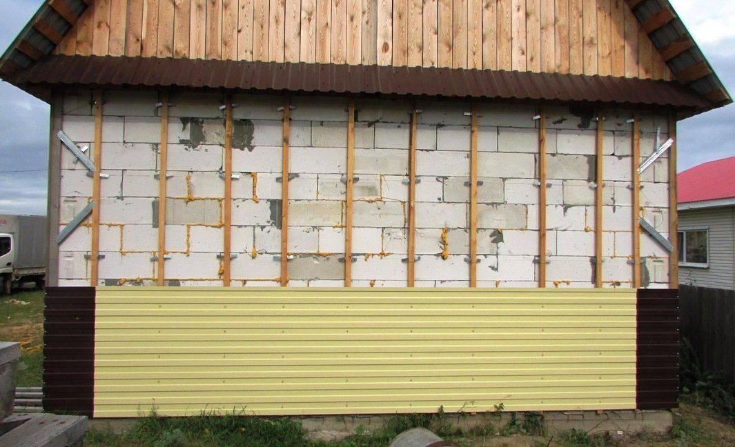 Важность утепления дома из пеноблоков. секреты обшивки фасада