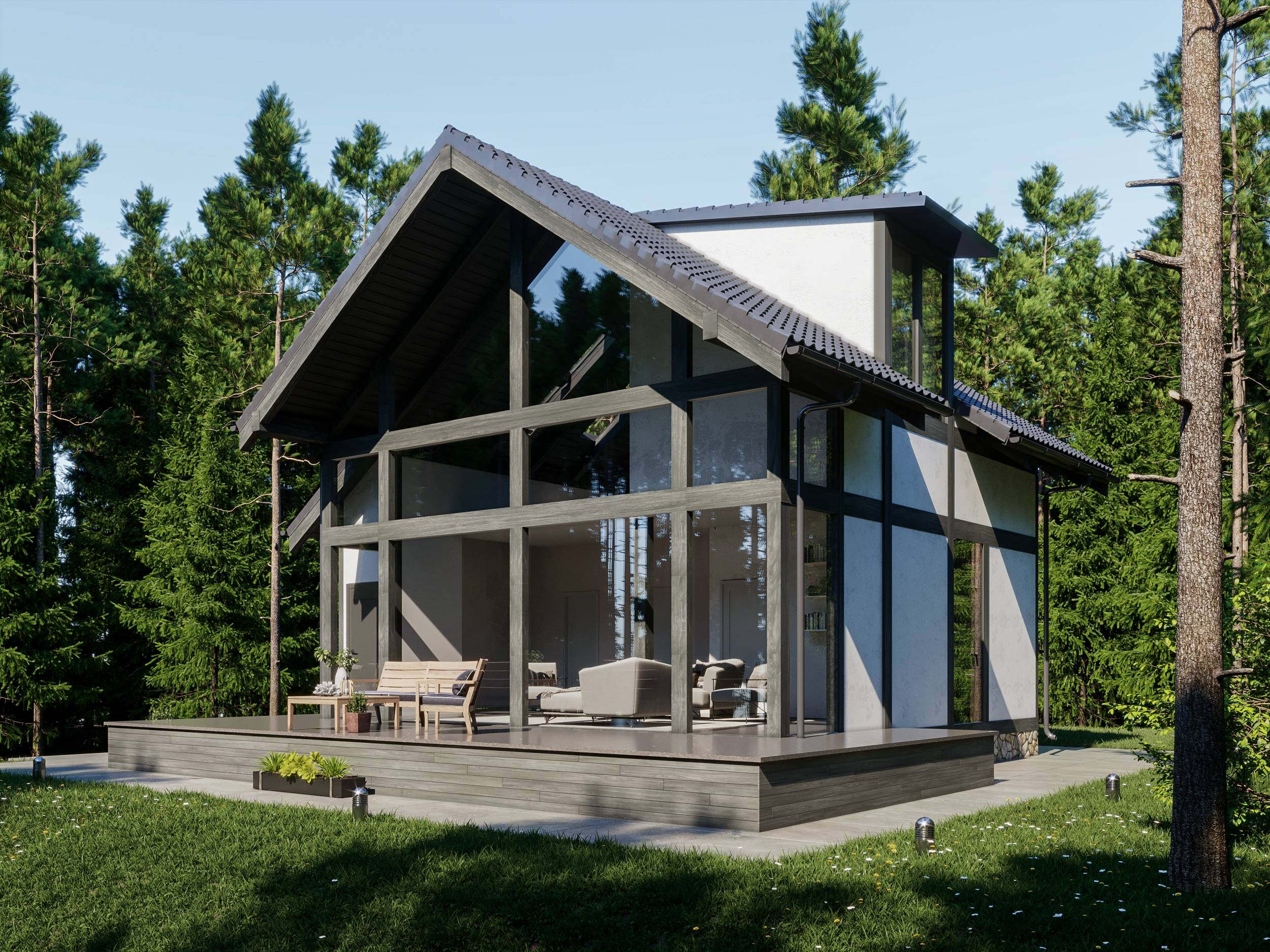 Дома в стиле фахверк: декорирование фасадов, проекты домов