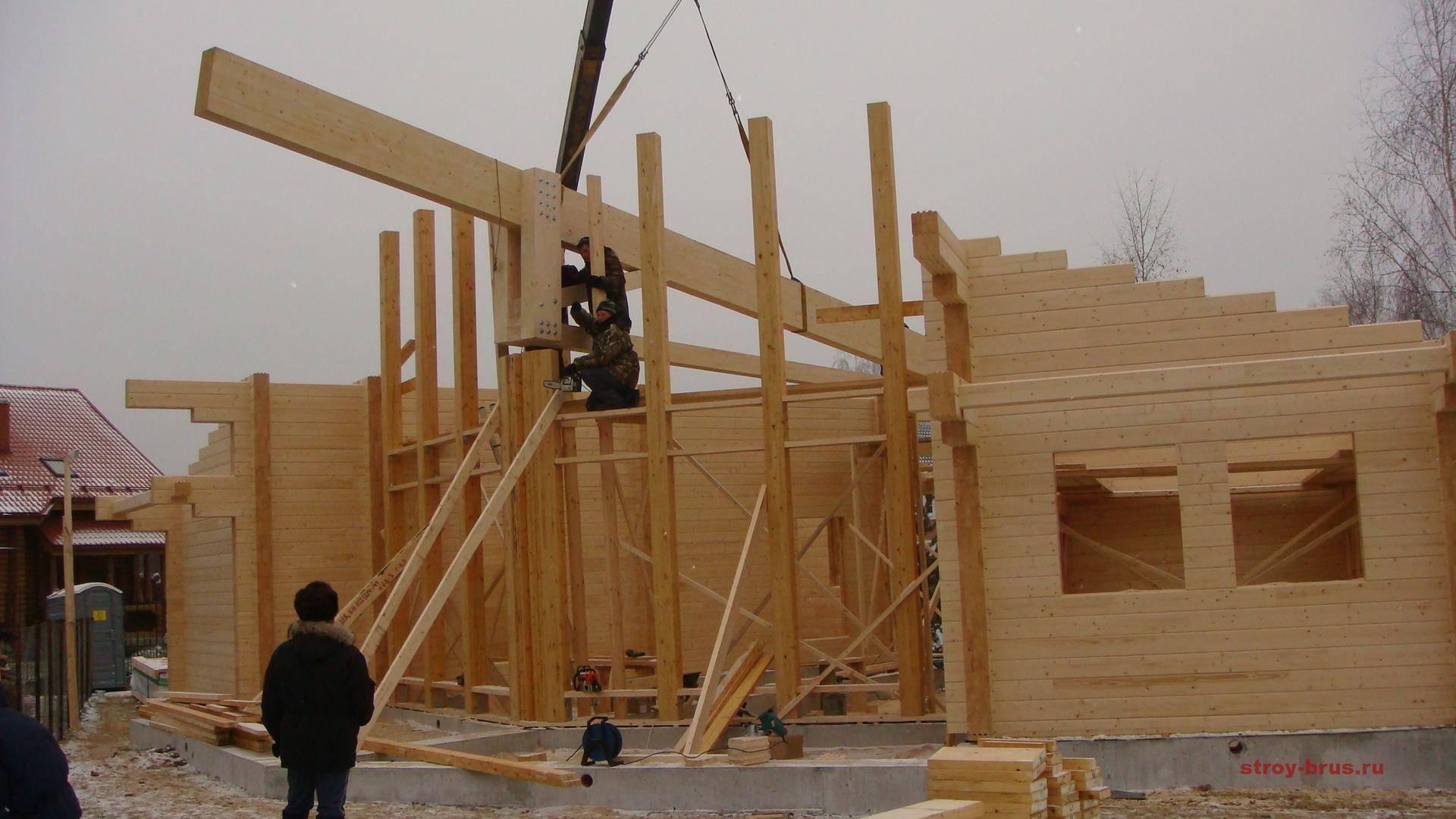 ????сравнение бруса и клеенного бруса - из чего лучше строить дом - блог о строительстве