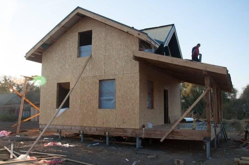 Обшиваем каркасный дом при помощи osb панелей с наружной стороны. пошаговая инструкция