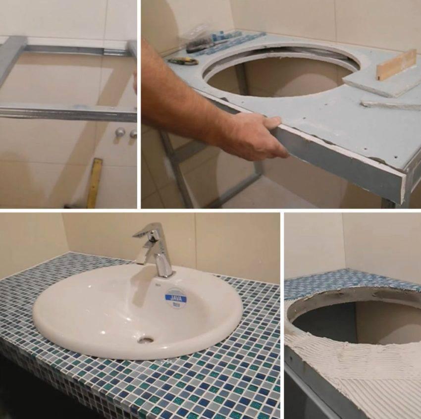 Деревянная столешница в ванную: описание видов, советы по выбору и уходу