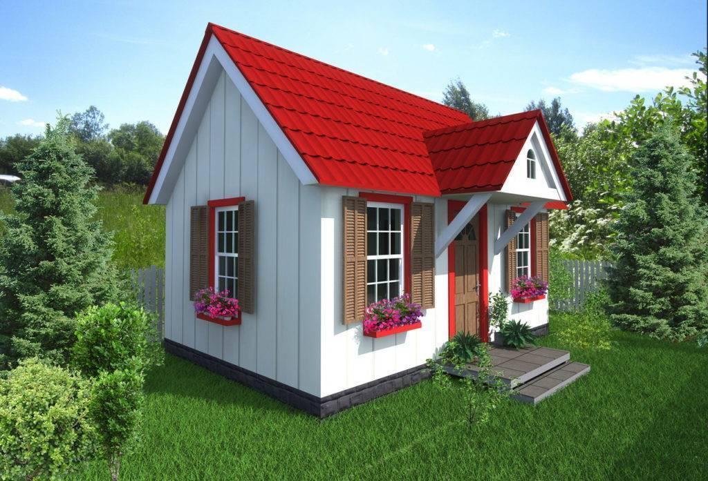 Домик для детей - проектируем и строим своими руками, варианты и схемы для работы