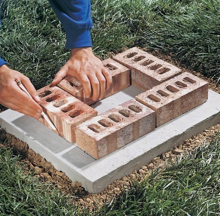 Как класть стену из кирпича своими руками: кладка в один кирпич, инструкция, видео