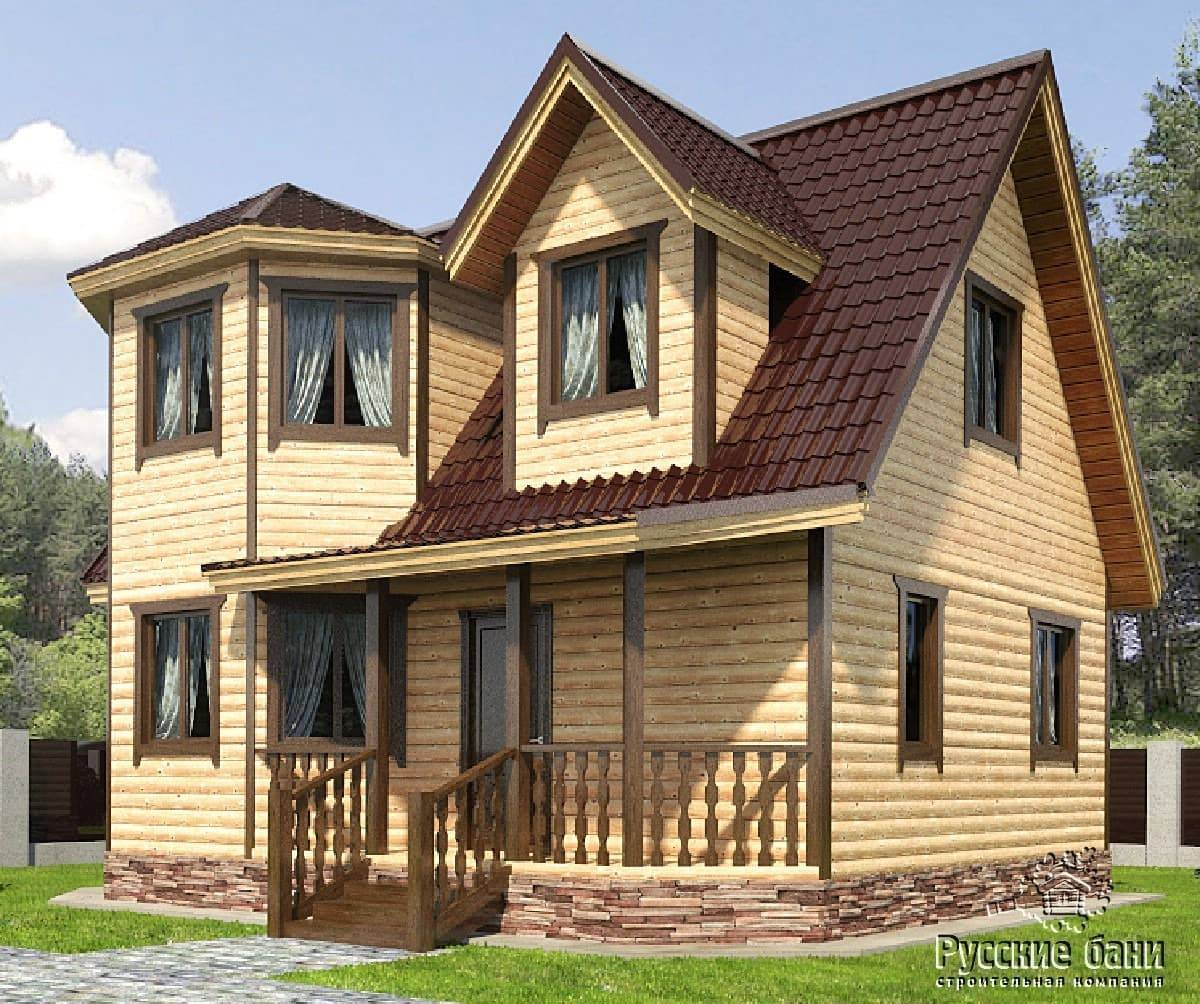 Дом с эркером - красивое и функциональное решение в интерьере современного загородного дома