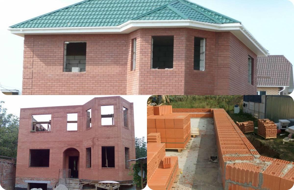 Проекты комбинированных домов из кирпича и бруса: фото, обкладка и облицовка