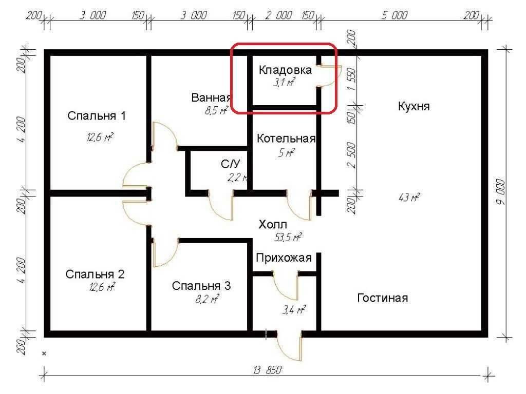 Проект одноэтажного дома с тремя спальнями: от расположения комнат до идей по оптимизации пространства