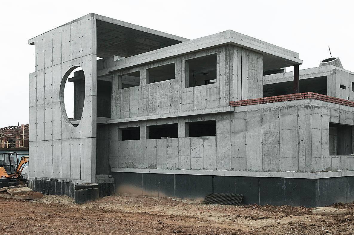 Строительство монолитного дома своими руками