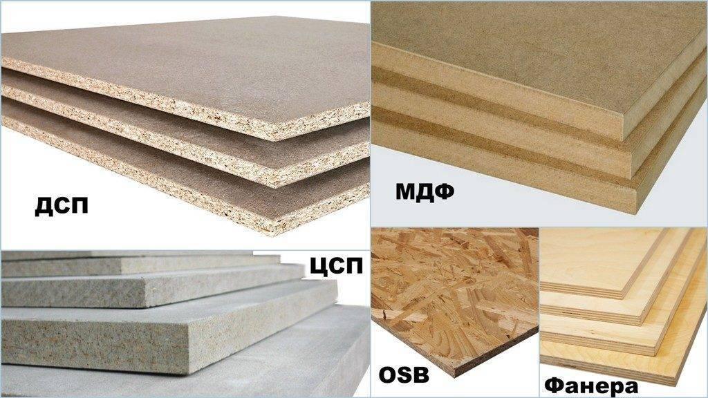 Древесноволокнистые и древесностружечные плиты, их характеристика, свойства и применение в строительстве