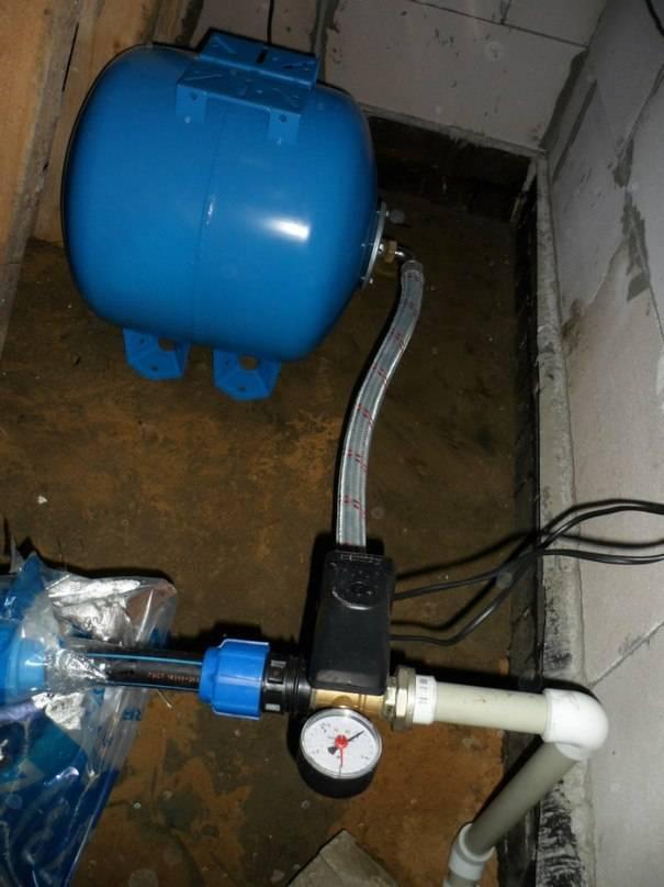 Подключение гидроаккумулятора к системе водоснабжения - vodatyt.ru