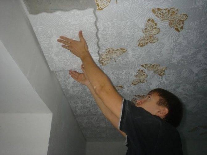 Чем мыть потолочную плитку из пенопласта: видео-инструкция, фото