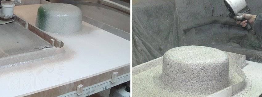 Столешница из жидкого камня: своими руками, пошаговая инструкция, плюсы и минусы, полезные советы при выборе, фото.