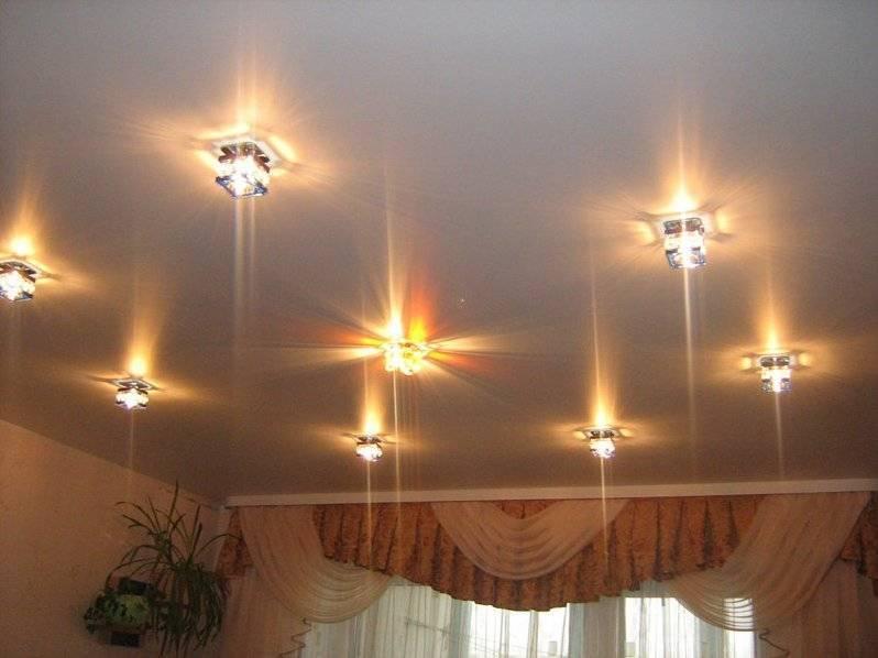 Как просто установить точечный светильник в гипсокартонный потолкок