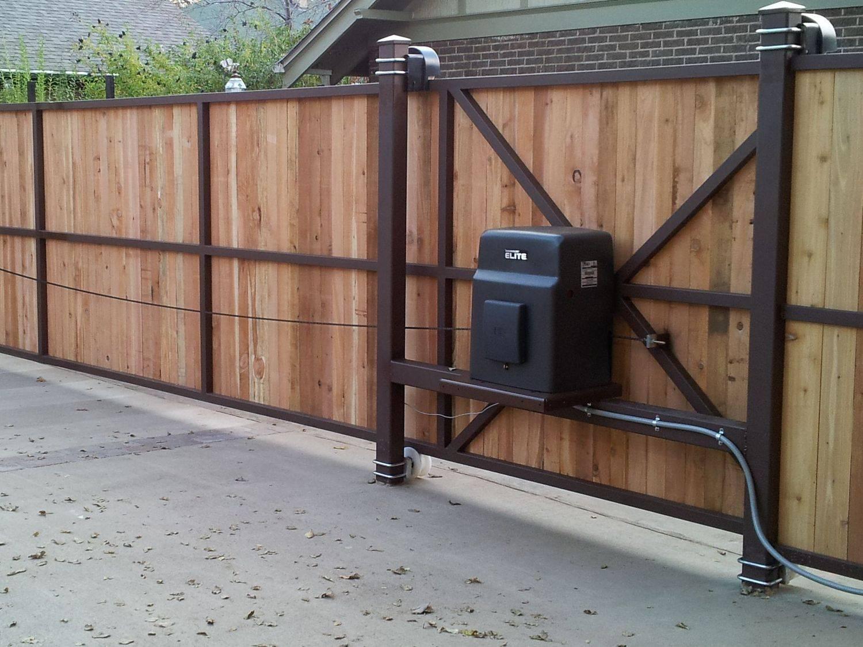 Как сделать автоматические ворота с калиткой самостоятельно