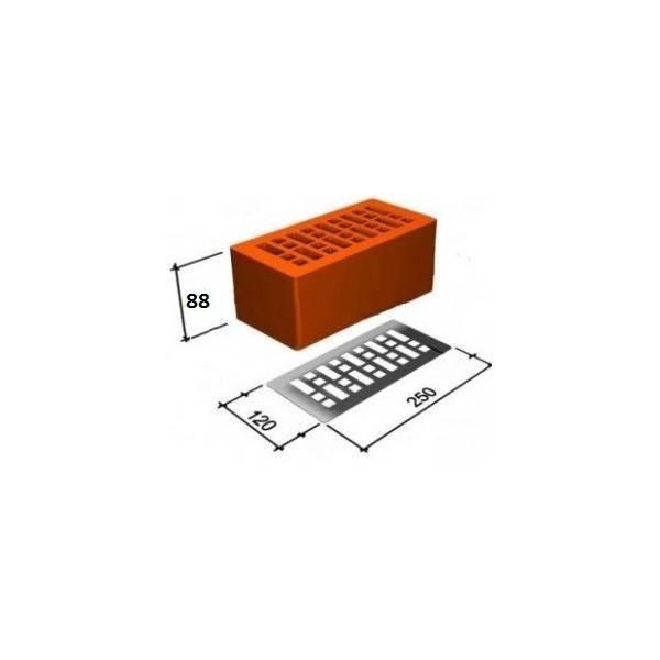 Двойной кирпич: размеры щелевых, пустотелых и поризованных изделий, м-150 250х120х138