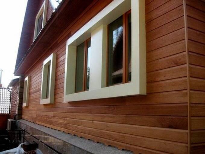 Внешняя отделка домов из бруса: фото, примеры наружной отделки